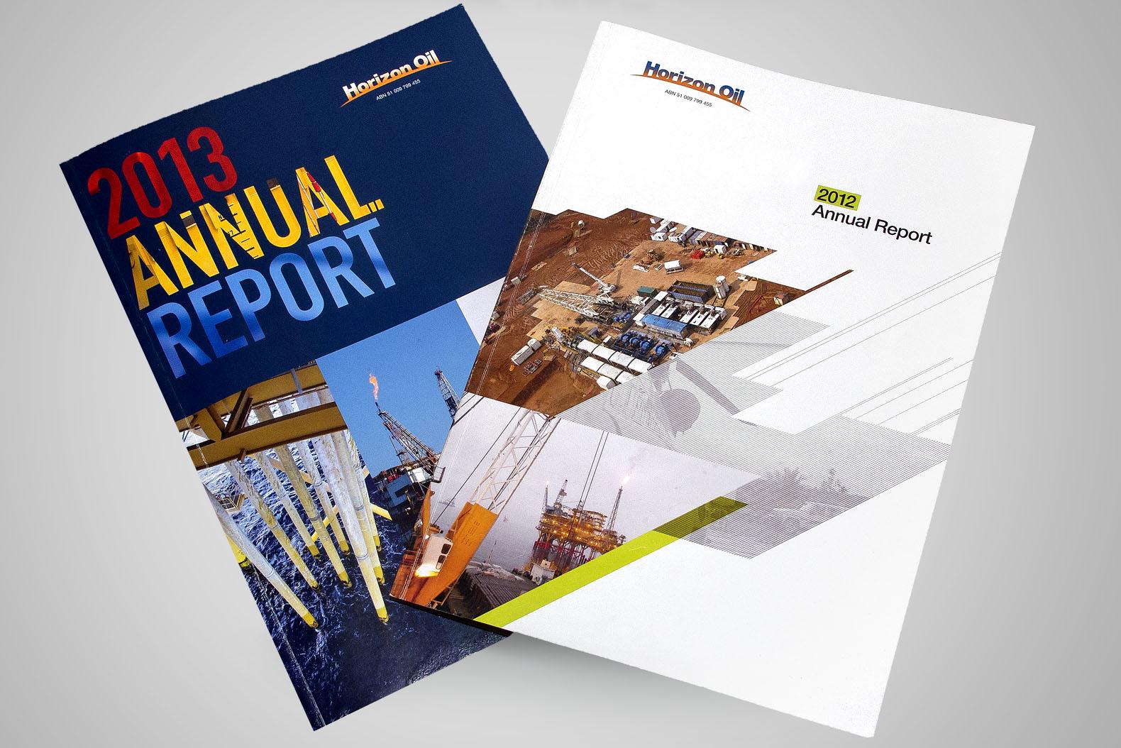 Horizon Oil 2010/13 Annual Reports