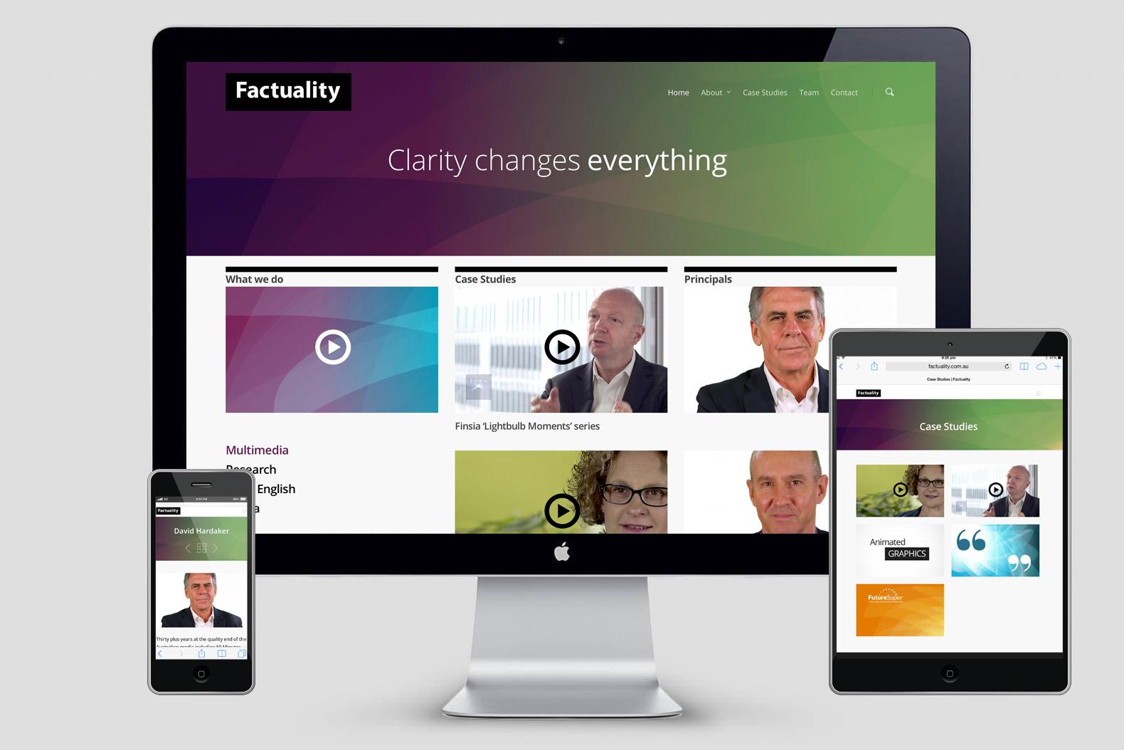 Factuality website