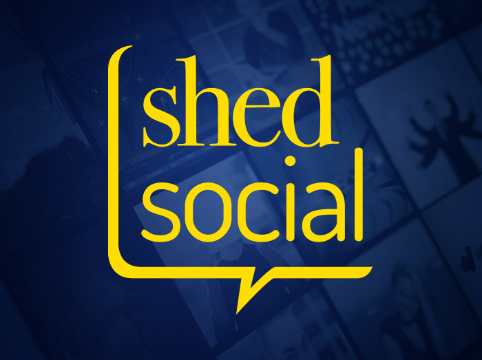 Shed Social Website and Branding
