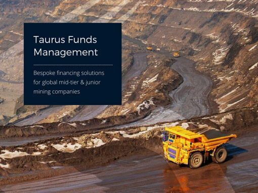 Taurus Funds Management website