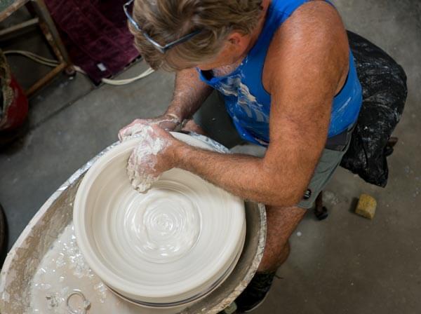 Legend Pottery website